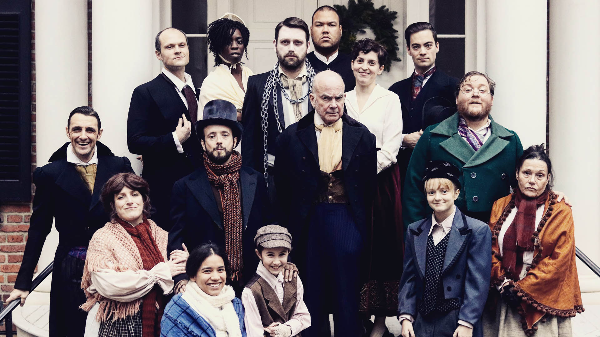 'A Christmas Carol' 2018 Cast - Photo Courtesy of Graham Isador